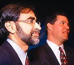 Keith Krach and Sanjiv Sadhu