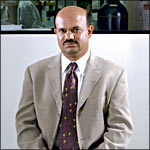 Kal Ramnarayan, VP and chief scientific officer at Structural Bioinformatics, Inc. Photo by Beth Herzhaft.