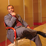 Robert Dixon, VP of IT for Procter & Gamble Co.'s baby, feminine, and family-care business. Photo by Jim Gallaway.