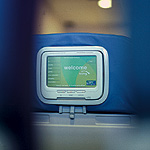 Song Airlines' Seat-Back Video Screen. Photo by Sacha Lecca.