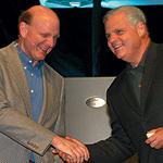 STEVE BALLMER AND JOE TUCCI PHOTO