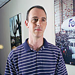 Andy Lesser, a senior technical analyst at FedEx Corp. Photo by Rochelle Mozeman.