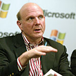 Steve Ballmer -- Photo by NewsCom-Reuters/JeffChristensen