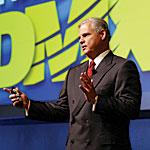 Joe Tucci, president and CEO of EMC Corp.