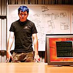Marc Maiffret, 17,  co-founder of eEye Digital Security