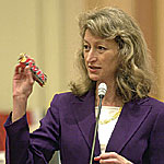 Sen. Debra Bowen -- Photo by AP