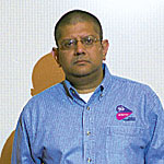 Anand Chandrasekher, VP and co-general manager of Intel's Mobile Platforms Group