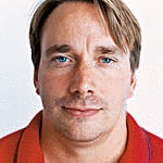 Linus Torvalds -- Photo by Timothy Archibold
