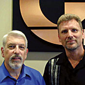 Marc Eisenstein(left) and Brett Kernen -- Photo by Stone