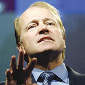 John Chambers -- Photo by Tami Chappell/Reuters