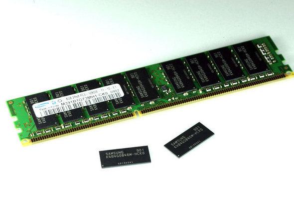 Chip Samsung da 4 Gbit