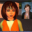 Judi Smith heads up training in Second Life for Children's Memorial Hospital in Chicago. Here she is with her Second Life avatar, ''Judi Carver.''