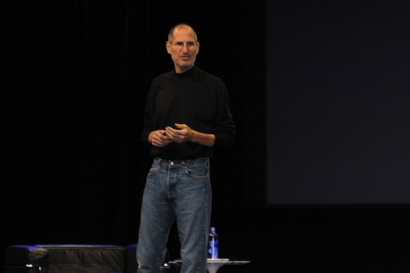 Jobs, On Stage