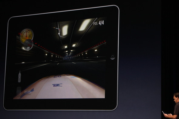 Need For Speed on iPad
