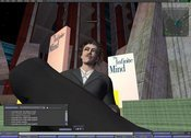 Kurt Vonnegut gave an interview in Second Life shortly before his death.