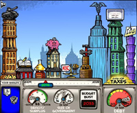 American Public Media's 'Budget Here' game lets participants choose how they would balance government priorities.