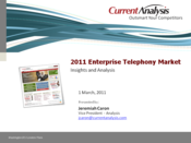 Slideshow: IP Telephony Market Update