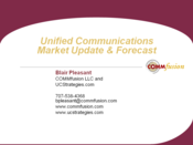 Slideshow: UC Market Update