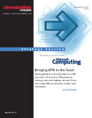 Bringing APM to the Cloud